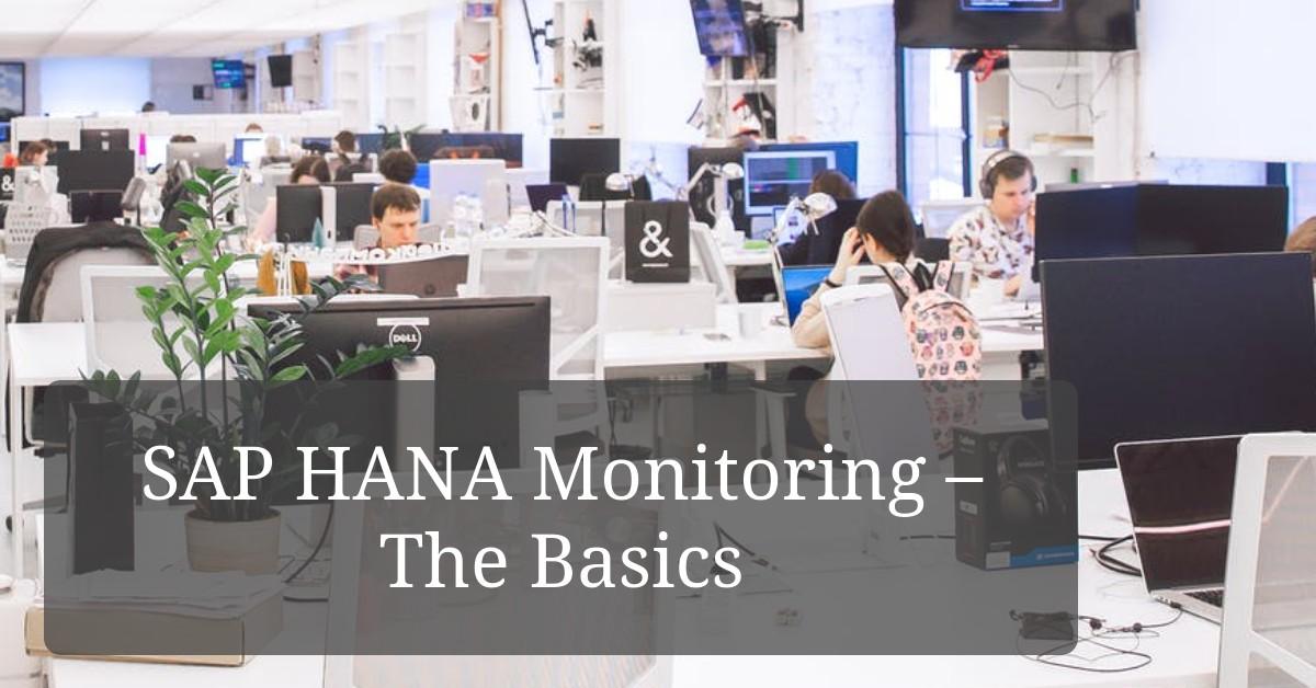 SAP HANA Monitoring Title Image